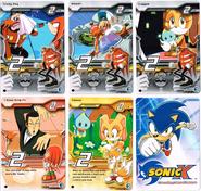 Sonic X tcg Common 026-030