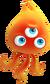 Czerwony Wisp Sonic Colors