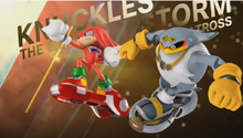 Knuckles i Storm Free Riders opening