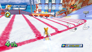 Mario Sonic Olympic Winter Games Gameplay 219