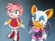Rouge and Amy