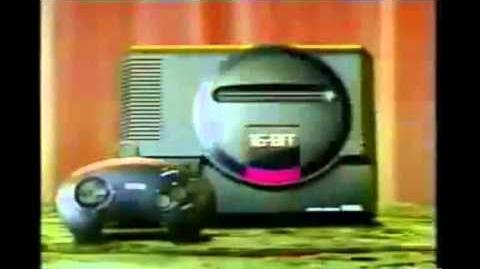 Sega Mega Drive II - Sega Genesis - Video Game Console - TV Commercial - Retro Gaming - japan - 1992