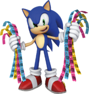 Sega Prize Zone Sonic tickets