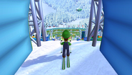 Mario Sonic Olympic Winter Games Gameplay 025