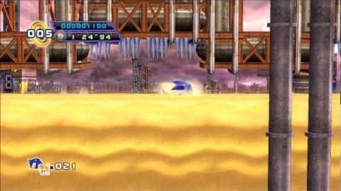 Sonic 4 Episode 2 - Oil Desert Act 2
