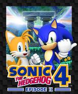 Sonic 4 Episode II boxart