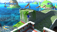 Sonic Generations @ Seaside Hill Cannon Blast