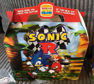 Burger King Sonic R 1998 promotion box