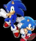 Klasyk i Modern Sonic