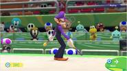 Mario & Sonic at the Rio 2016 Olympic Games - Waluigi Gymnastics