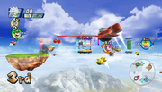 Mario Sonic Olympic Winter Games Gameplay 528