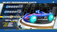 Metal Sonic Spark Rims Wheels