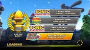 Sega Racing Egg Cup