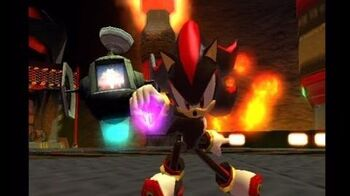 Shadow the Hedgehog Episode 50 Stage 6 Lava Shelter Dark Mission A-Rank
