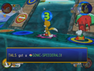 Sonic-Speederald in-game