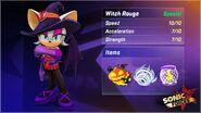 Sonic Forces Speed Battle Witch Rouge