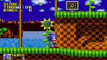 Sonic Genesis screen