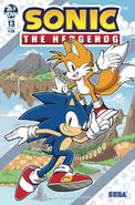 Sonic IDW 13 Cover B