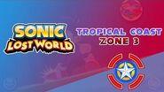 Tropical Coast Zone 3 - Sonic Lost World