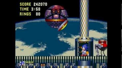 Death Egg Zone - Gameplay