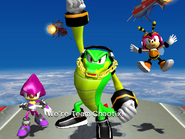 Egg Fleet Cutscene - Team Chaotix