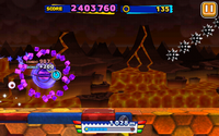 Lava Mountain (Sonic Runners) - Screenshot 4