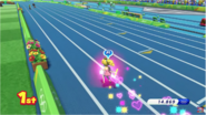 Mario & Sonic at the Rio 2016 Olympic Games - 4x100m Relay Peach with Super Dash