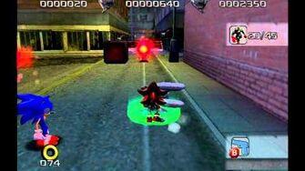 Shadow the Hedgehog (GC) Westopolis Hero Mission A Rank-0