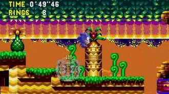 Sonic CD Stage 2 - Collision Chaos Zone