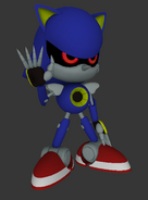 Sonic Generations Metal Sonic Model 02