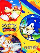 Sonic Mania E3 Poster