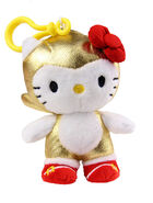 Toynami SxS Gold Sonic x Hello Kitty 6 inch clip-on plush