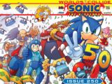 Archie Sonic the Hedgehog Issue 250