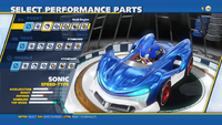 Sonic Dash Engine Front