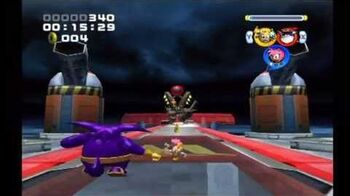 Sonic Heroes Egg Emperor (Team Rose)