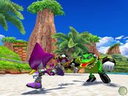 Sonic Heroes screen 1
