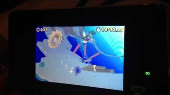 Sonic Lost World (3DS) - Frozen Factory Zone 1 - Sonic Boom 2013