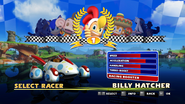 Sonic and Sega All Stars Racing character select 03
