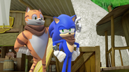 Sonic and Tommy