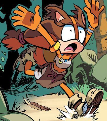 File:Sticks the Badger Archie Comics.jpg