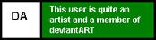 Userbox- DeviantArtist