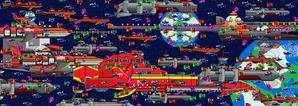 Galactic Eggman Empire conquering the Galaxy