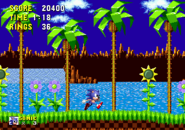 Green Hill Zone Sonic 1