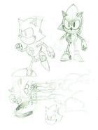 Metal Sonic concept