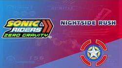 Nightside Rush - Sonic Riders Zero Gravity