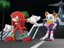 Rouge i Knuckles ep 75