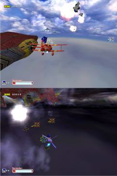 SADX - Sky Chase Act 1 - Combanation Screenshot -