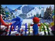 Skiing starting line