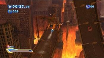 Sonic Generations HD - Vector Through the Storm (Crisis City Zone)