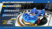 Sonic Legendary Dash Engine Front